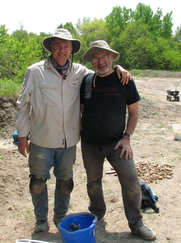 23. Braceville fossil collecting, 5-21-16