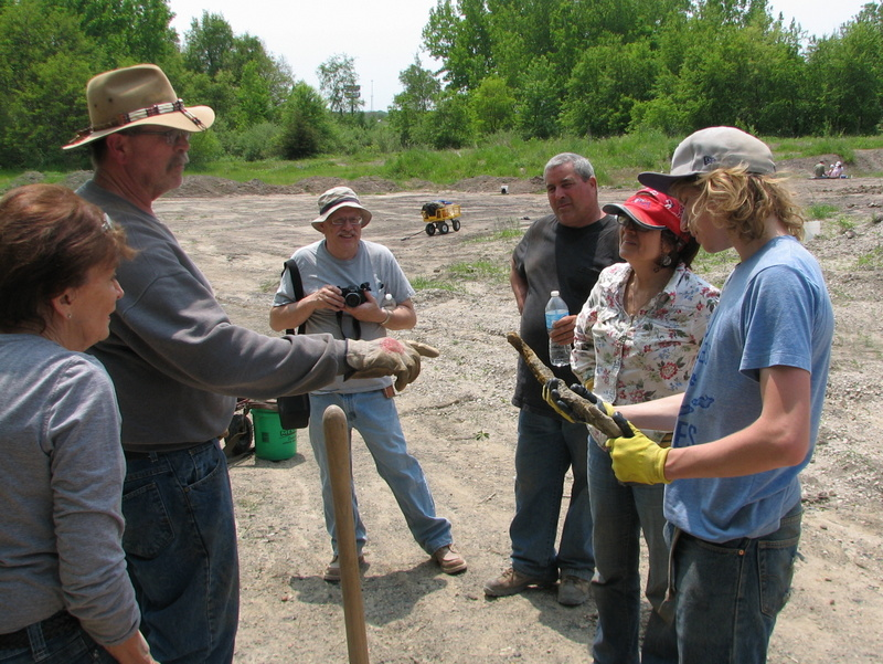 25. Braceville fossil collecting, 5-21-16