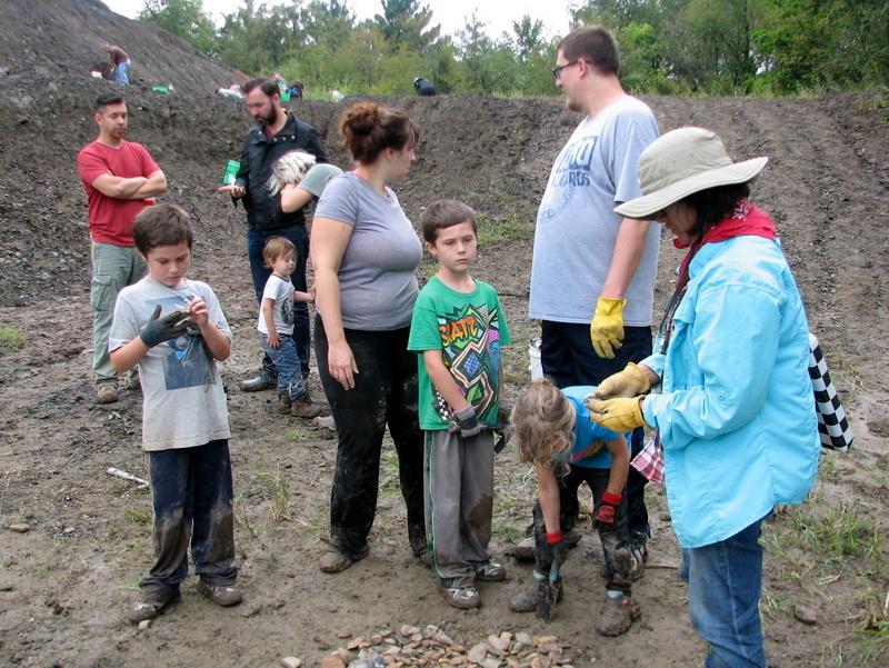 1. Braceville fossil collecting, ESCONI, 9-10-16