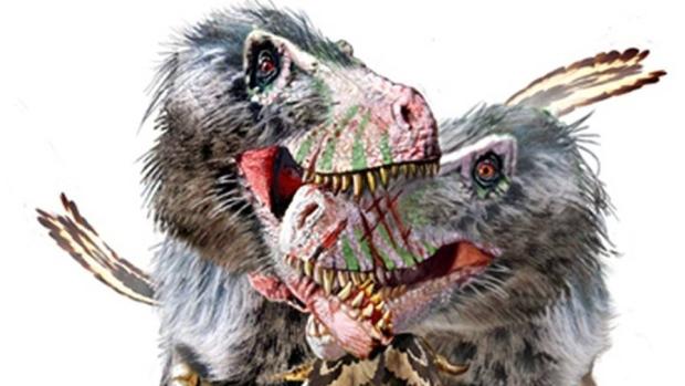 Daspletosaurus-battle