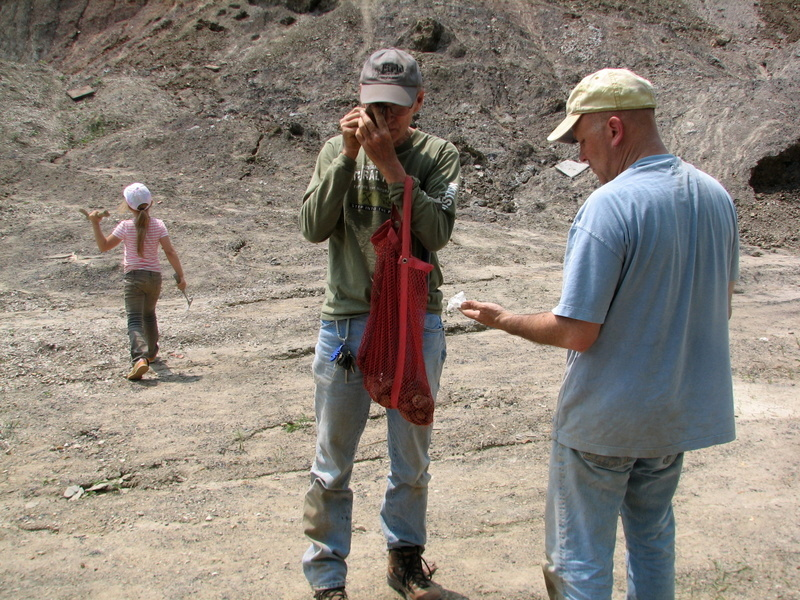 41. Braceville fossil collecting, 5-21-16