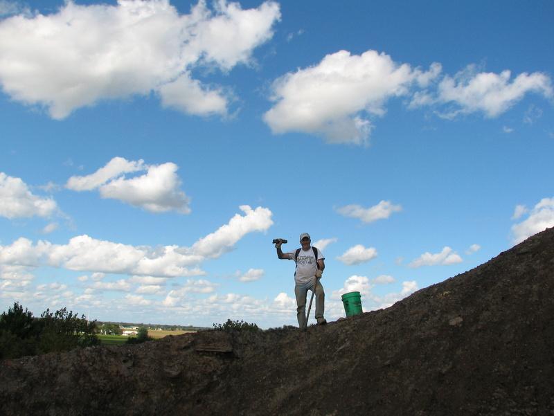 15. Braceville fossil collecting, ESCONI, 9-10-16