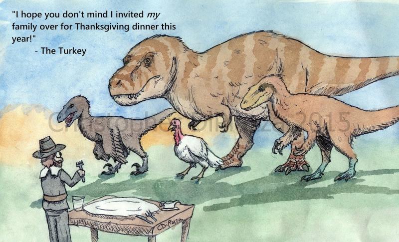 Thanksgiving Dinorsaurs