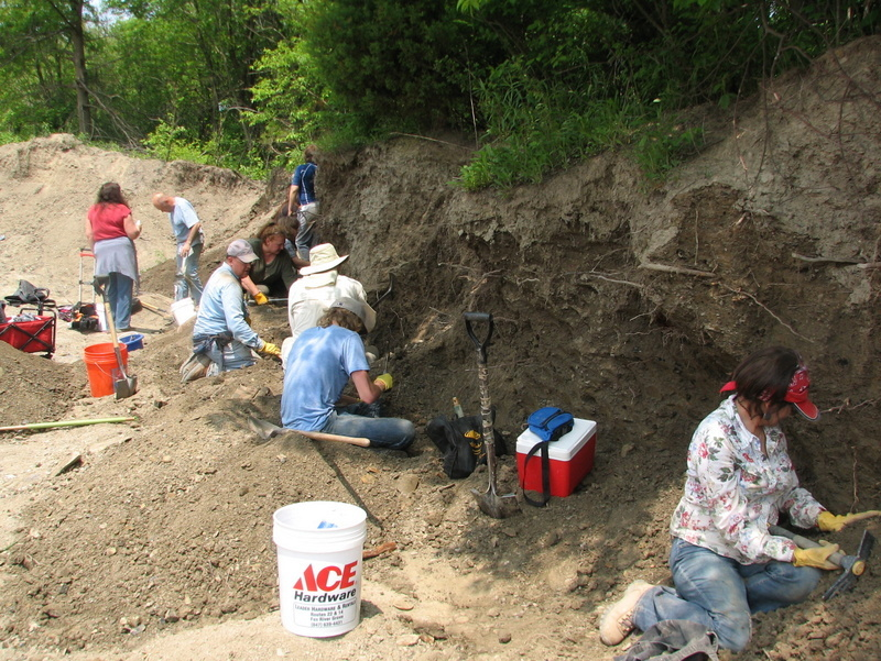 40. Braceville fossil collecting, 5-21-16