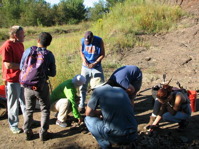 25. Braceville fossil collecting, ESCONI, 9-11-16