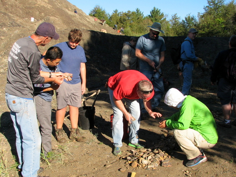 24. Braceville fossil collecting, ESCONI, 9-11-16