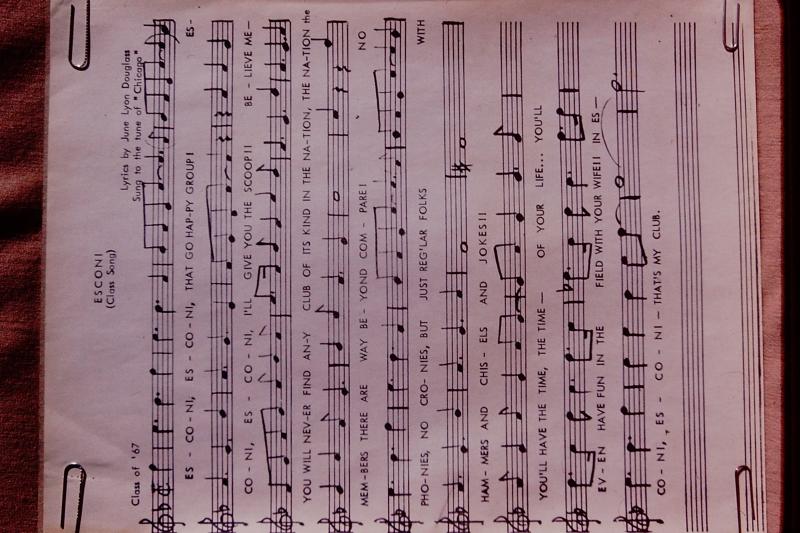 35_ESCONI 'Class Song'_1967