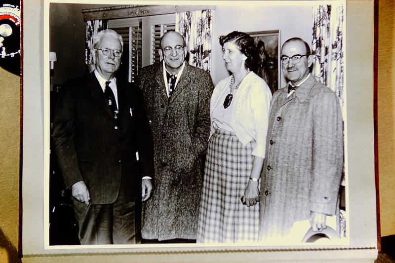 3-ESCONI-Max Hillmer Carl Hoffman Dorothy Ade Jay Farr