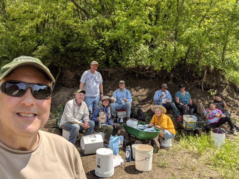 72. ESCONI Braceville field trip  5-18-19