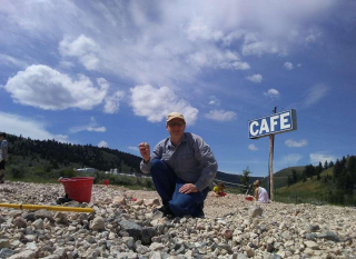 Opal Hunting at the Spencer, Idaho Mini-Mine by Andy Jansen