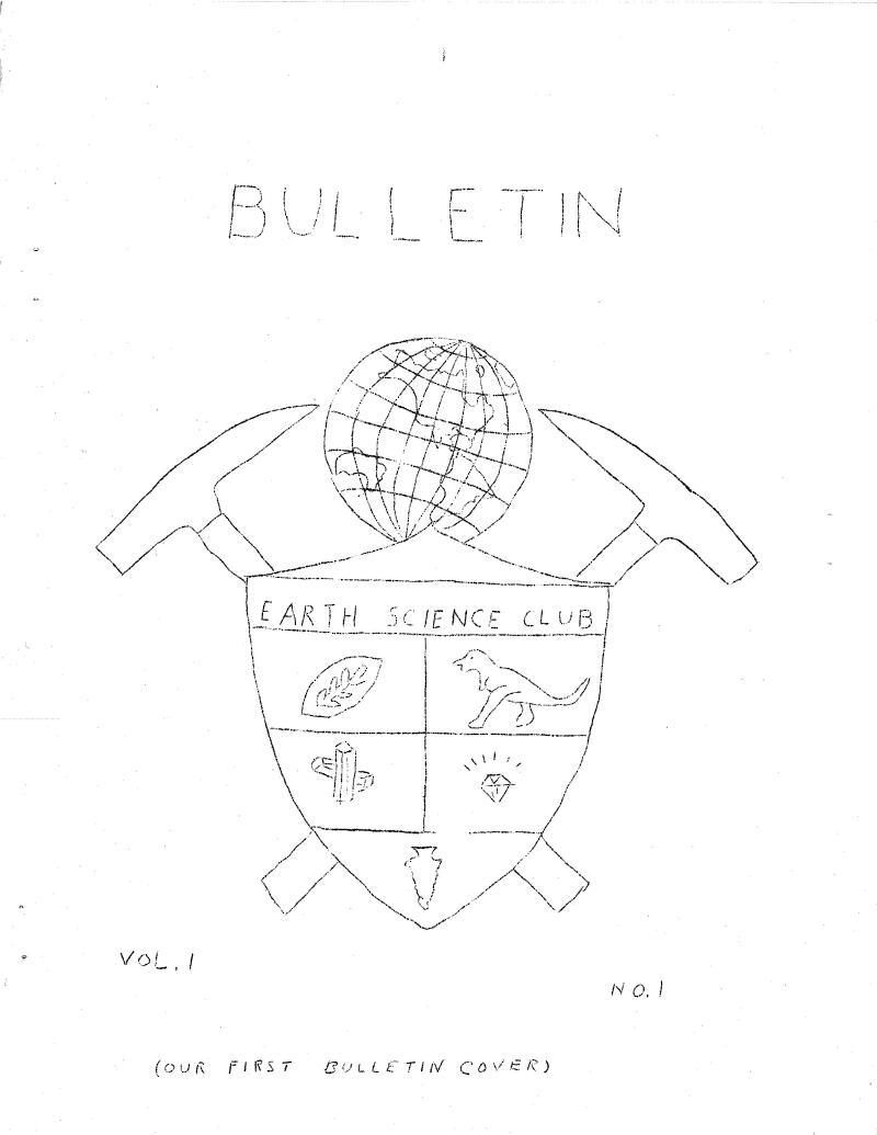 Cover 1st Bulletin