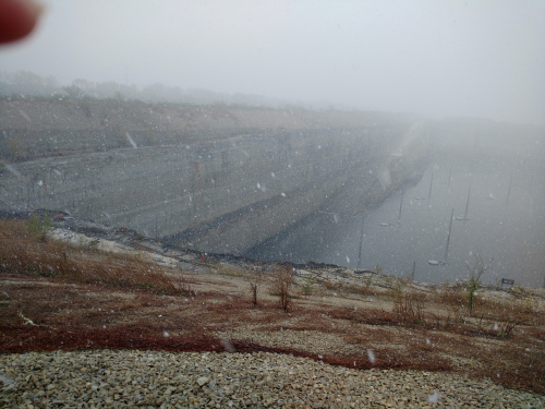 Deep tunnel quarry
