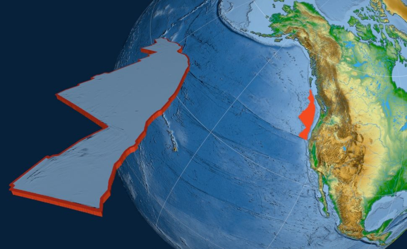 Tectonic Plate West Coast