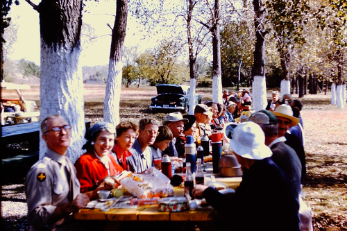 21_McLuckie's Club ESCONI trip  lunch_Braidwood  IL_1959
