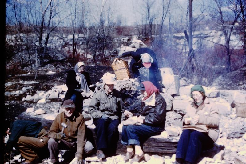 5_Lemont  IL Quarry  trilobites_1952