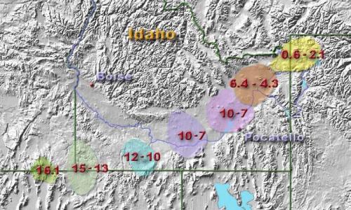 Yellowstone intensity