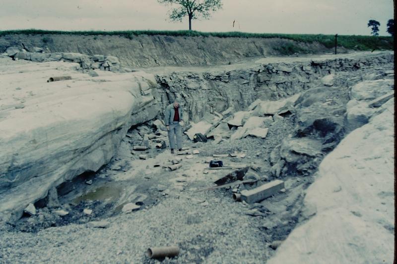 25_Glacier grooves_Pugh Quarry_1959