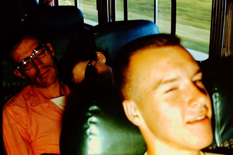 18_Chuck Armstrong_Ohio bus trip_June 1959