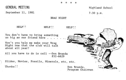 September 1981 - 1