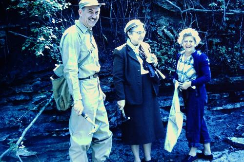 1_Indiana Paleontology trip-Allaway M.Balbitt H.Bonow_May 4-5 1957