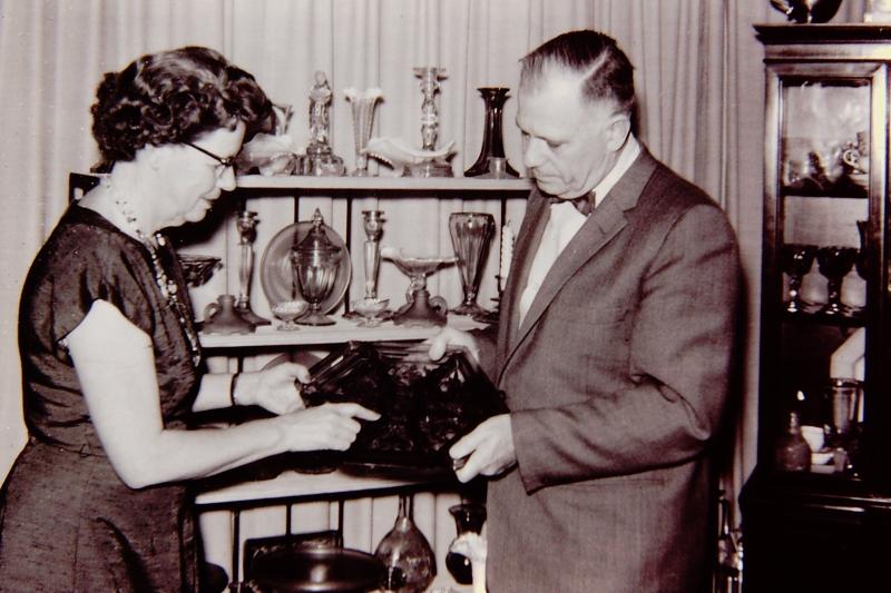 3_Donnafred & Wilber 'Doc' Hoff_April 22  1958