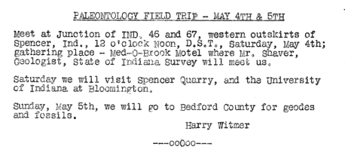 May 1957 announcement