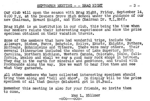 September 1956 President